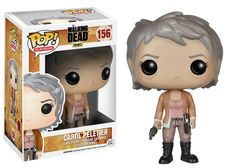 Carol from the gruesome Walking Dead television series as a 3 3/4-inch Pop! Vinyl figure! Fans of the Walking Dead can now get the cold-blooded Carol rendered in the awesome stylized Pop! Vinyl form.