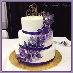 Cake Decorating Classes Orange Nsw : 1000+ images about Sarahs wedding on Pinterest Purple ...