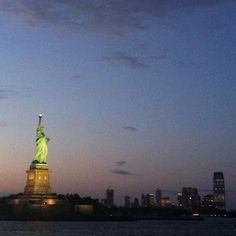 Lady Liberty still shines bright! Come visit us and see her in person! NYC NYChotel TimesSquare TimesSquarehotel travel vacation