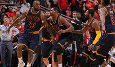 LeBron James beats Bulls at buzzer. Read more @ http://www.allymon.com
