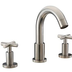 This faucet is made of solid brass and is plated to provide reliability, durability and to enhance the visual landscape of a home.