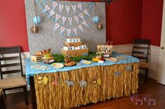 Southern Blue Celebrations: Jungle, Safari, Zoo Party Ideas and Inspirations