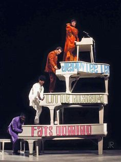 Fats Domino, Little Richard, Jerry Lee Lewis and Brian Auger... The Castle of Piano R'nR!