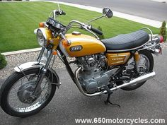 71 Yamaha XS1B 650 4th Bike