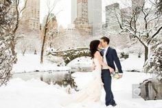 Winter Wedding Photo by Shawn Connell for Christian Oth Studio