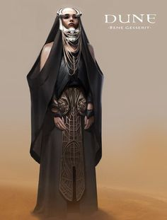 Dune_Bene_Gesserit - A gallery-quality illustration art print by Bruno Gauthier Leblanc for sale.