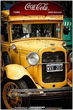 Vintage Coca Cola Truck..1930 right hand drive in Argentina