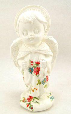 imagens de anjos em gesso customizadas - Pesquisa Google