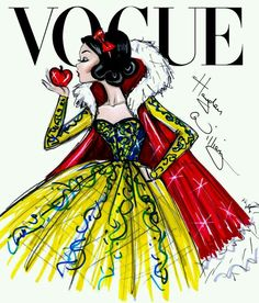 Versão fashion de Branca de Neve por Hayden Williams