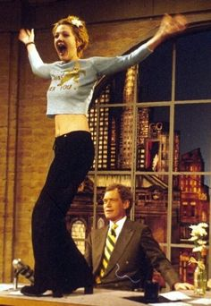 magic moment, Drew Barrymore on Letterman