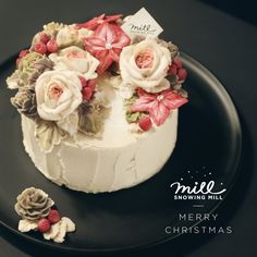christmas cake by snowing mill