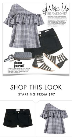 """""""Be awesome!"""" by shoaleh-nia ❤ liked on Polyvore featuring Frame Denim"""