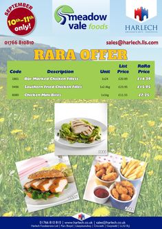 Meadowvale Foods Offers Flyer