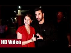 Ranbir Kapoor & Anushka Sharma together at the special screening of AE DIL HAI MUSHKIL at Juhu PVR Cinema, Mumbai.  #ranbirkapoor #anushkasharma #aedilhaimushkil #bollywood #bollywoodnews #bollywooodgossips #news #gossips #bollywoodnewsvilla