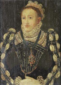 1569_UnknownLady  Master of the Countess of Warwick  Bonhams  Interesting sleeves. . .