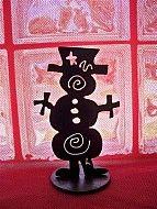 "7"" Snowman by Lisa Regan"