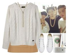 """""""After the concert with Dok2, The Quiett and Beenzino from Illionaire (Girlfriend Dok2)"""" by evil-maknae ❤ liked on Polyvore featuring Hobbs, Le Mont St. Michel, Converse, Nina Ricci and Cath Kidston"""