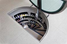 Spiral Wine Cellar Stairs