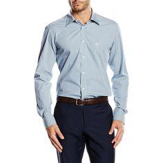Multi Color 40 IT - 15¾ US Versace 19.69 Abbigliamento Sportivo Srl Milano Italia Fit Modern Classic Neck Shirt MCC48