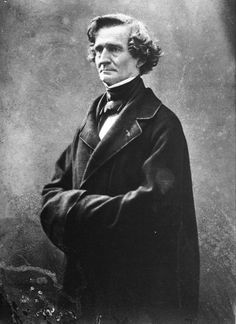 Hector Berlioz (1803-1869), photograph (1857), by Gaspard-Félix Tournachon (1820-1910).
