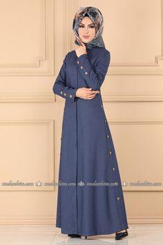 Abaya Fashion, Denim Fashion, Fashion Dresses, 90s Fashion, Muslim Women Fashion, Islamic Fashion, Womens Fashion, Latest Dress Design, Moslem Fashion