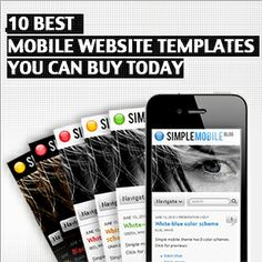 If you are intending to make your regular website accessible through mobile devices or to develop a mobile website from scratch using a template, there are certain things you need to be cognizant of with regard to choosing from mobile website templates.