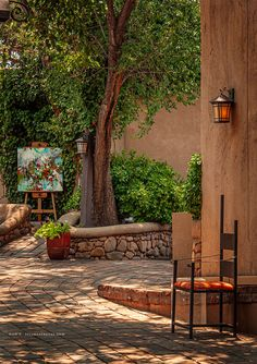 New Mexico Style, New Mexico Homes, Types Of Houses Styles, Mexican Patio, Porches, Santa Fe Style, Hacienda Style, Land Of Enchantment, Outdoor Living