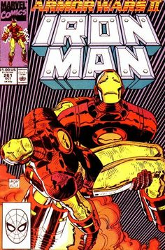 Iron Man # 261 by John Romita Jr. & Bob Wiacek