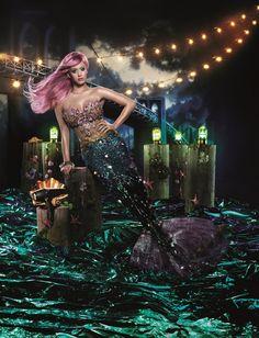 Pink hair like Katy Perry!