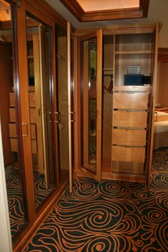 The Royal Suite Stateroom 8500 Walk In Closets