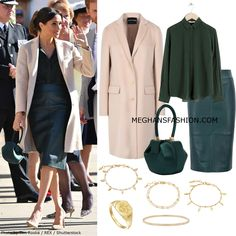 3 Oct 2018 - What Duchess Meghan Markle wore for visit to Sussex Estilo Meghan Markle, Meghan Markle Style, Meghan Markle Outfits, Prinz Charles, Look Office, Kate And Meghan, Prinz Harry, Princess Meghan, Vestidos Plus Size