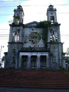 Iglesia de Puriscal,COSTA RICA. This is exactly what it looks like. In the center of town.