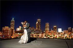 Ventanas, Atlanta, City View, Rooftop Venue, Ceremony and Reception Inspiration. Ben Vigil Photographers