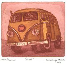 """The Bus"", Anna-Maija Mattila-Selin, www.anna-maija.com"