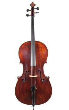 Old German Cello by Eduard Tauscher, circa 1920 - Cellos, Erlbach near Markneukirchen / Eduard Tauscher