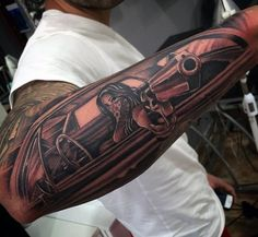 Tattoos Of Cars For Men