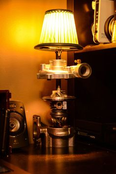 Picture of TurboCharger Lamp