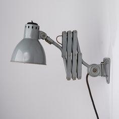Tateka working light (enameled metal), 1960's.