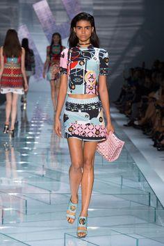 Versace - Milan Fashion Week - Spring 2015 #fashion