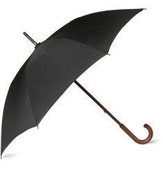 Brooks Brothers Wooden-Handle Umbrella | MR PORTER