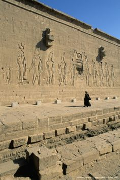 Dendera Temple complex, is located about 2.5 km south-east of Dendera, Egypt. It is one of the best-preserved temple complexes in Egypt. The area was used as the sixth Nome of Upper Egypt, south of Abydos. HQ photo