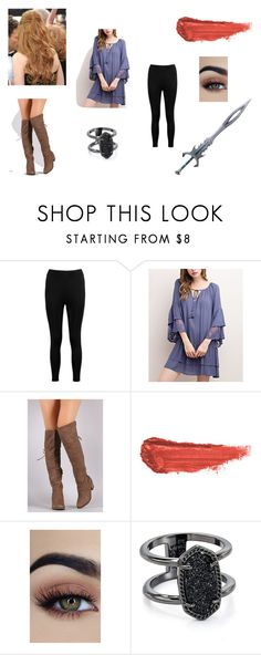 """""""Fate ~ Chapter 16"""" by embermoon on Polyvore featuring Boohoo, Mittoshop, By Terry and Kendra Scott"""