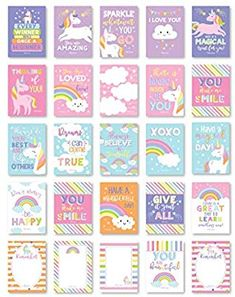 25 Unicorn School Lunch Box Notes For Kids, Inspirational Motivational Cards Boys Girls From Mom, Encouraging Student Children Teens, Thinking of You Positive Affirmation Encouragement Lol Fun Love Lunch Box Notes, School Lunch Box, Unicorn Land, Motivational Cards, Fun Loving, Positive Affirmations, Boy Or Girl, Thinking Of You, Encouragement