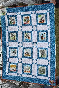 Quilting Treasures JW Frisch McGregors Market Quilt Kit | Quilts ... : elephant quilt panel - Adamdwight.com
