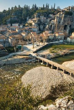 The most beautiful villages in the Ardèche - Tips for your holiday in France - Labeaume, Ardèche, France - Beautiful Places In The World, Places Around The World, Around The Worlds, Camping Holiday, Holiday Travel, Vacation Places, Vacation Trips, Europa Tour, Places Worth Visiting