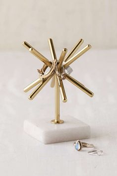 Sunburst Marble Ring Stand - Urban Outfitters