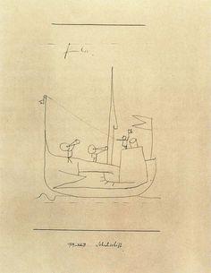 Paul Klee: School boat, 1939.