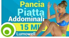 Pancia Piatta: Esercizi Addominali per un Addome Piatto e Tonico - YouTube