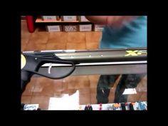 Tono Rodriguez expone una serie de fusiles de pesca submarina, para la realización de tu deporte favorito