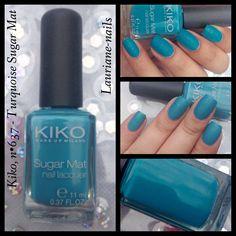 Kiko, n•637 - Turquoise Sugar Mat